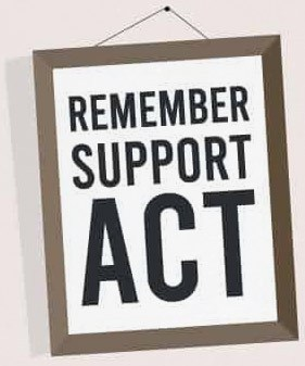 Remember. Support. ACT.